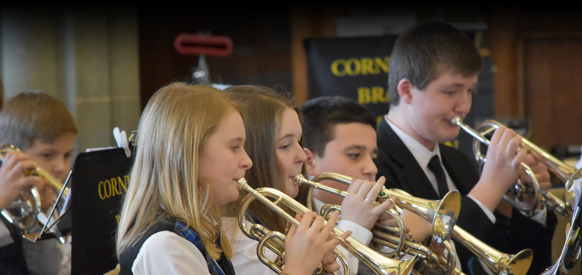 Lanner Brass Academy Front Row
